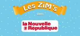 Les ZiM's dans La Nouvelle République du 5 février 2015