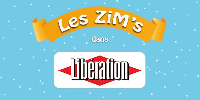 Les ZiM's dans Libération