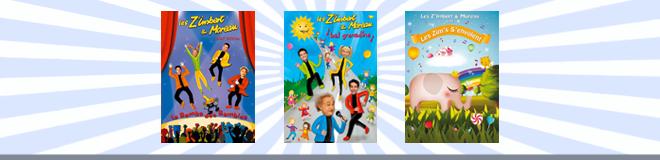 Les ZiM's en DVD
