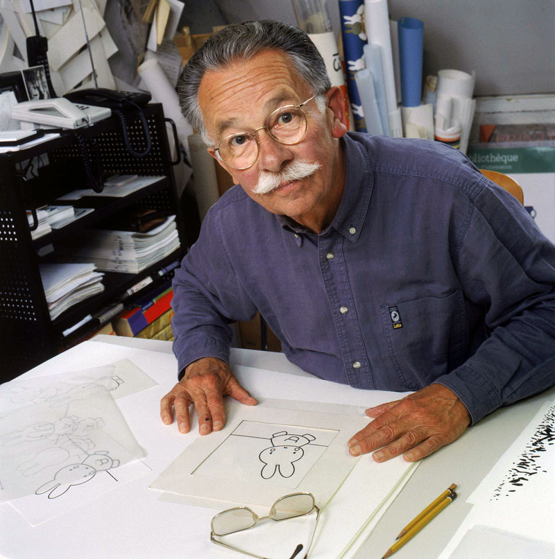 Dick Bruna, créateur de Miffy