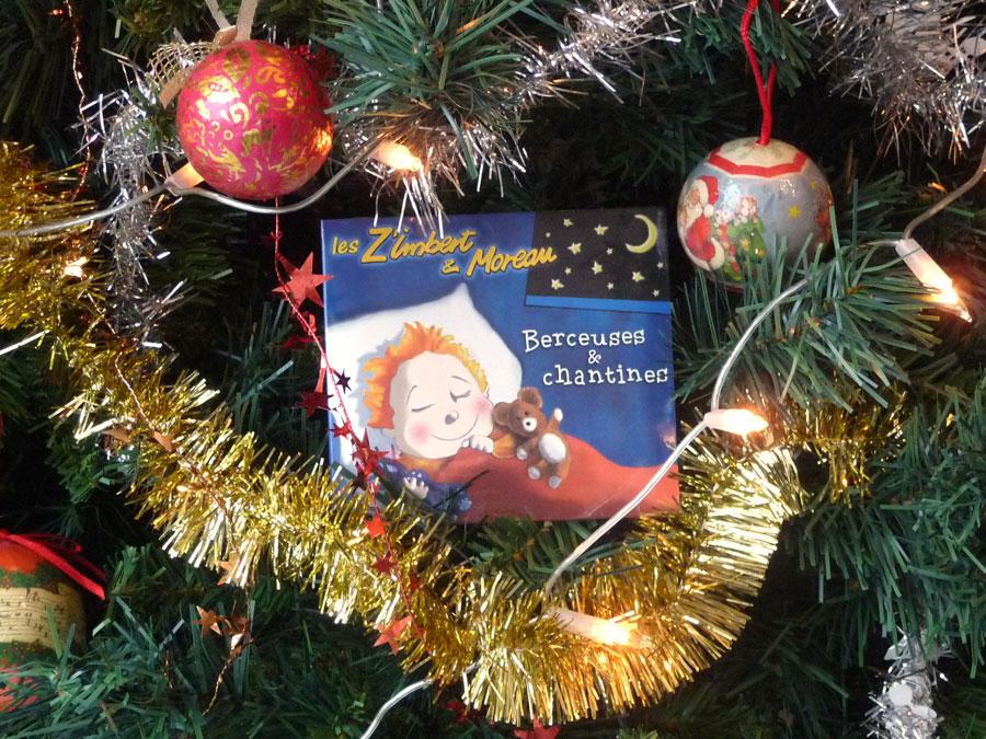 CD Berceuses et chantines - sapin de Noël