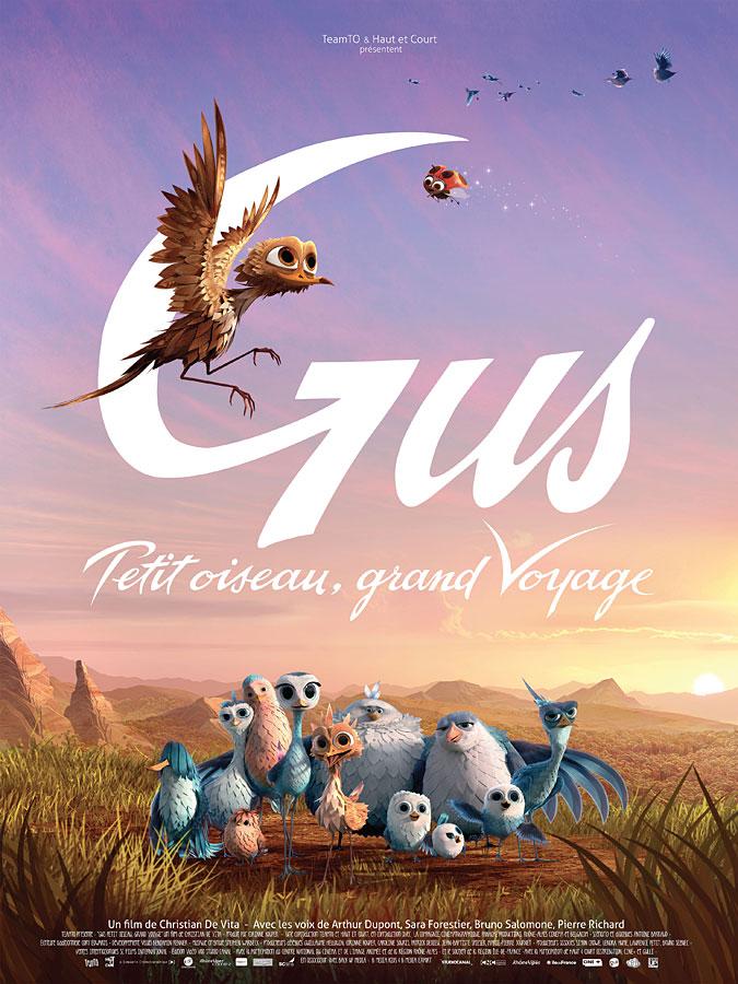 Gus - petit oiseau, grand voyage (Christian De Vita, 2015)