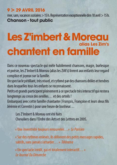 Les ZiM's - Espace Paris Plaine 2016