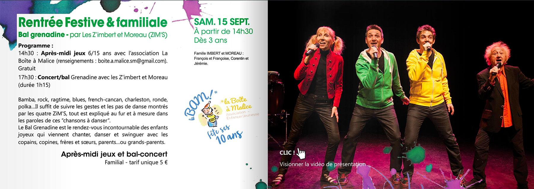 Les Z'Imbert & Moreau à Saint-Mars-la-Jaille le 15 septembre 2018
