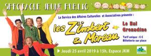 Les Z'Imbert & Moreau à Saint-Nom-la-Bretêche le 25 avril 2019
