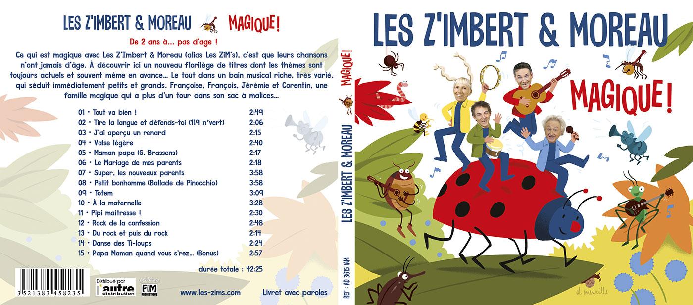 Magique ! Les Z'Imbert & Moreau (L'Autre Distribution) - Digipack recto-verso
